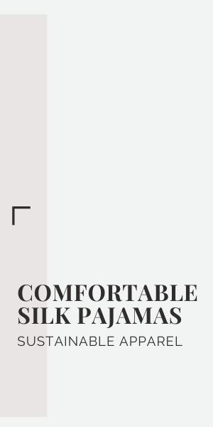 comfortable silk pajamas